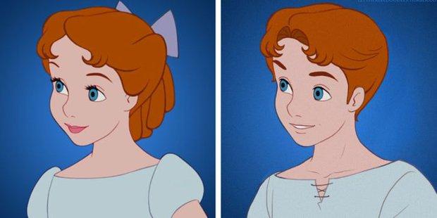 Cười xỉu khi các nhân vật Disney huyền thoại bị hoán đổi giới tính: Elsa đẹp trai hết hồn nhưng nhan sắc trùm cuối mới gây hoang mang! - Ảnh 10.