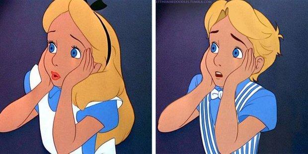 Cười xỉu khi các nhân vật Disney huyền thoại bị hoán đổi giới tính: Elsa đẹp trai hết hồn nhưng nhan sắc trùm cuối mới gây hoang mang! - Ảnh 6.
