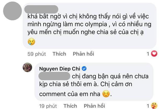 MC Diệp Chi tiết lộ lý do im lặng trước thông tin Khánh Vy thay thế mình tại Đường Lên Đỉnh Olympia - Ảnh 2.