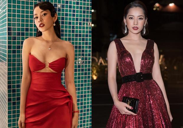 Kiểu váy oái oăm khiến Minh Hằng và dàn sao Việt hoá kiếp toà thiên nhiên trong nửa nốt nhạc - Ảnh 3.