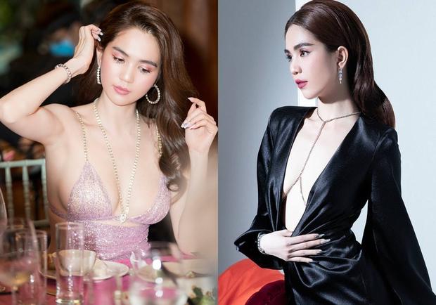 Kiểu váy oái oăm khiến Minh Hằng và dàn sao Việt hoá kiếp toà thiên nhiên trong nửa nốt nhạc - Ảnh 5.