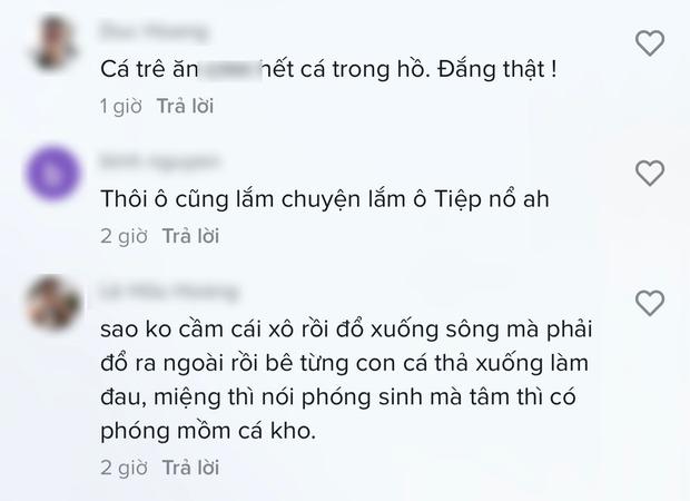 Vũ Khắc Tiệp thả cá phóng sinh nhưng lại bị netizen chỉ trích gay gắt vì 2 chi tiết - Ảnh 5.