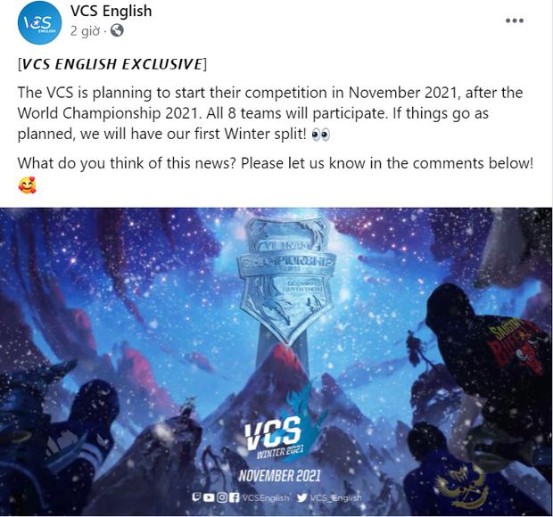 VCS lên kế hoạch tổ chức giải sau khi kết thúc CKTG, fan LMHT phẫn nộ: Thế tổ chức giải để làm gì nữa? - Ảnh 2.