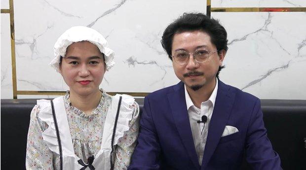 Vợ chồng Lâm Vỹ Dạ chí chóe trên sóng truyền hình vì chuyện ai làm việc nhà nhiều hơn - Ảnh 2.