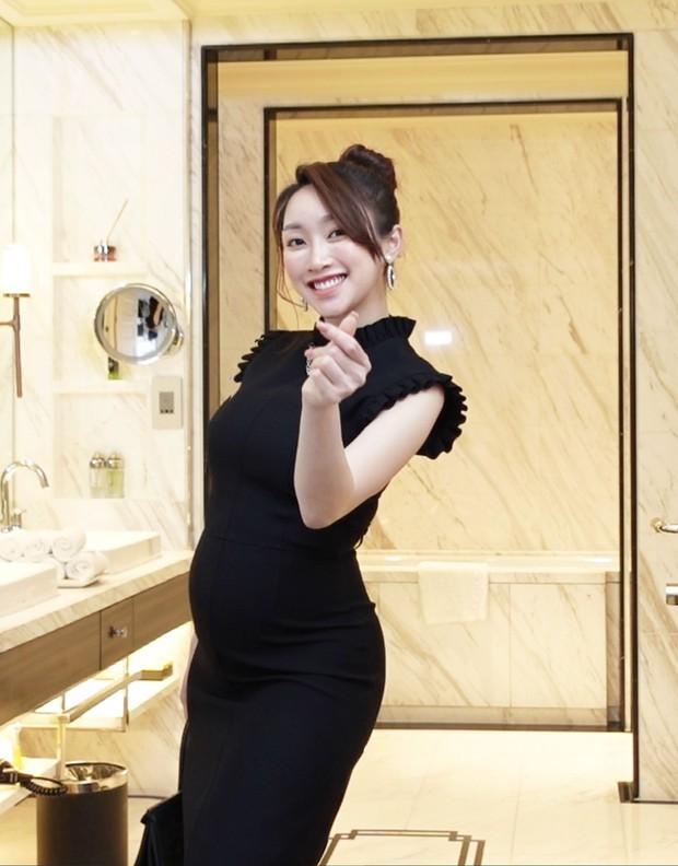 Vợ kém 16 tuổi của Chi Bảo tăng 8kg khi mang thai 6 tháng, nhan sắc sexy hết nấc - Ảnh 7.
