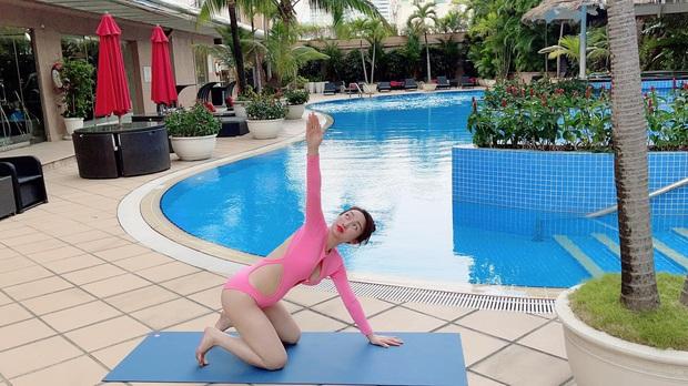 Vợ kém 16 tuổi của Chi Bảo tăng 8kg khi mang thai 6 tháng, nhan sắc sexy hết nấc - Ảnh 3.