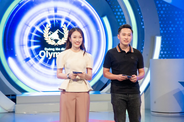 Khánh Vy nói gì sau lần đầu tiên làm MC Đường Lên Đỉnh Olympia? - Ảnh 1.