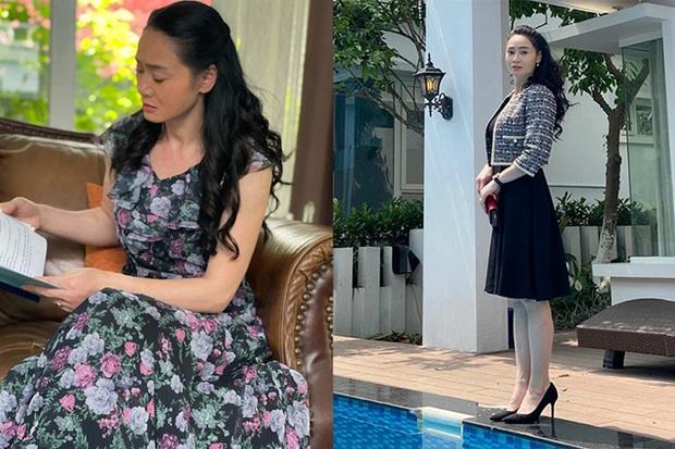 Bà Xuân (Hương Vị Tình Thân) khoe visual sang xịn như gái đôi mươi, netizen gọi con dâu Phương Oanh vào học hỏi! - Ảnh 5.