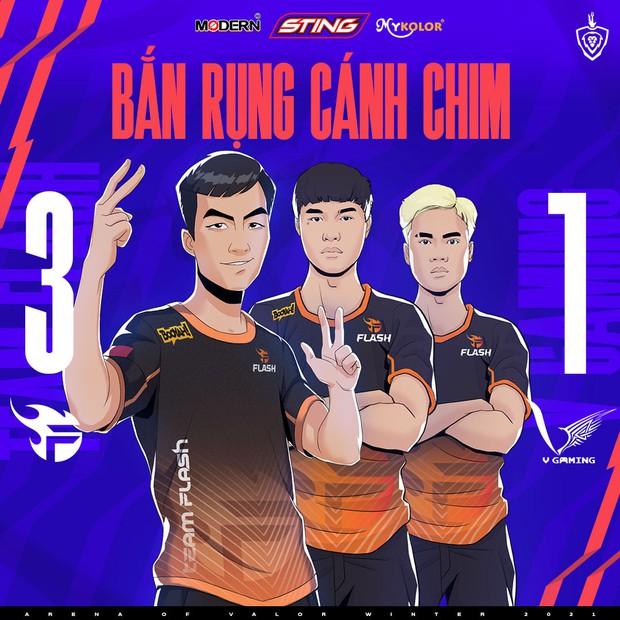 Xuân Bách tỏa sáng trong ngày ADC trở lại, Team Flash thắng áp đảo V Gaming để lấy lại ngôi đầu bảng - Ảnh 4.