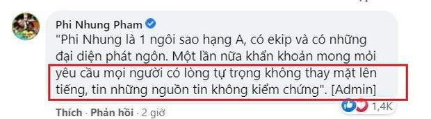 Bị chỉ điểm sau lời dằn mặt của ekip Phi Nhung, vợ cũ Bằng Kiều có động thái bất ngờ? - Ảnh 3.