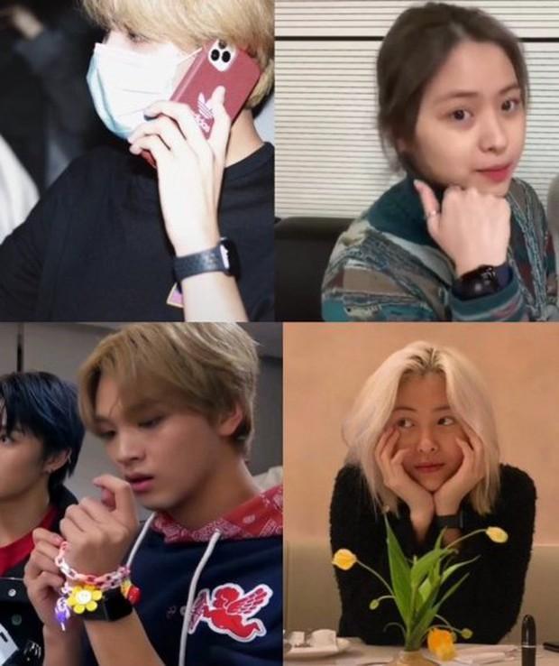 Lâu lắm rồi mới có idol Kpop đình đám tự để lộ bằng chứng hẹn hò vì... lỡ lời, cặp đôi mới của JYP và SM hay gì đây? - Ảnh 10.