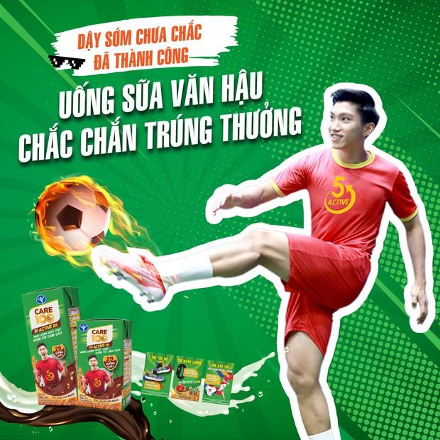 Quảng cáo gây lú Uống sữa Văn Hậu… trên poster của hãng sữa bị netizen phản ứng dữ dội vì chơi chữ kém duyên - Ảnh 1.
