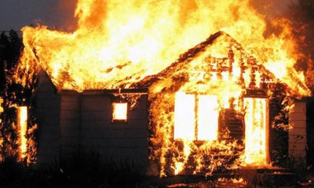 Công an thông tin ban đầu vụ cháy bất thường khiến 4 bố con tử vong ở Tuyên Quang - Ảnh 1.