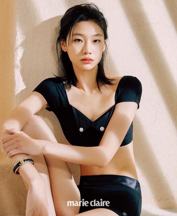 Jennie ghé trường quay Squid Game, giúp cô bạn thân Jung Ho Yeon lập kỷ lục mới trên Instagram cá nhân - Ảnh 5.