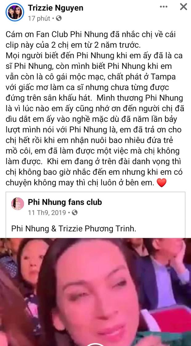 Bị chỉ điểm sau lời dằn mặt của ekip Phi Nhung, vợ cũ Bằng Kiều có động thái bất ngờ? - Ảnh 2.