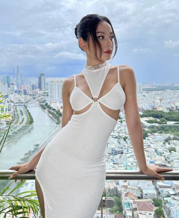 Chi Pu dạo này: Ở villa bạc tỷ, nhan sắc thăng hạng và body sexy đến mức làm luôn người mẫu nội y! - Ảnh 10.