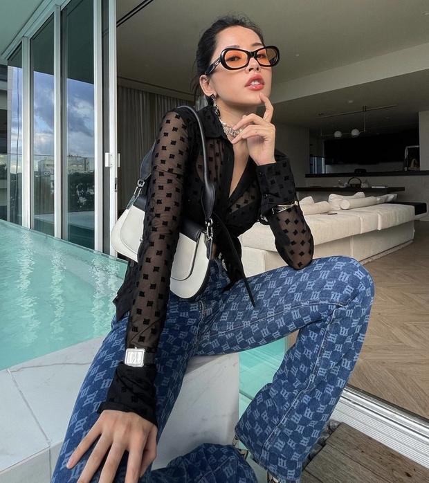 Chi Pu dạo này: Ở villa bạc tỷ, nhan sắc thăng hạng và body sexy đến mức làm luôn người mẫu nội y! - Ảnh 7.