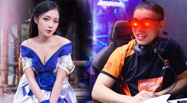 Cởi trần vô tình xuất hiện trên sóng trực tiếp, ProE khiến MC Phương Thảo ngượng chín mặt, fan được dịp cà khịa tới tấp - Ảnh 1.
