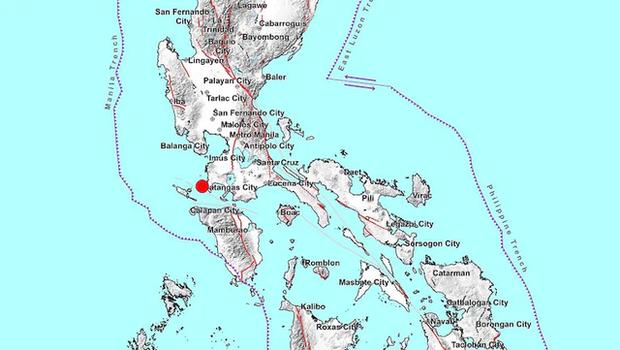 Động đất mạnh 5,7 độ làm rung chuyển khu vực phía Nam thủ đô Philippines - Ảnh 1.