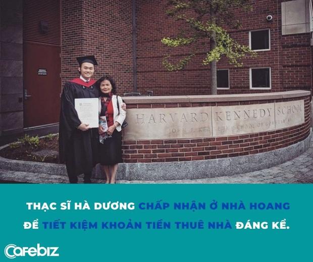 Áp lực của Thạc sĩ Việt tại ĐH Harvard: Ban ngày đóng vest đi làm nơi đắt đỏ, tối về ngủ trong nhà hoang - Ảnh 1.