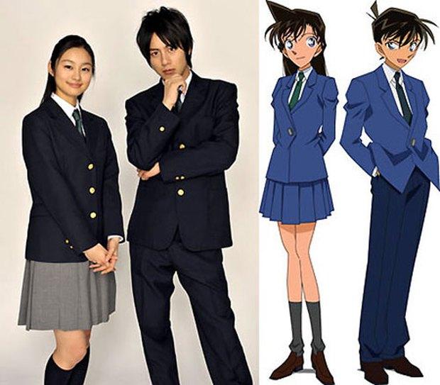 Phiên bản Conan người đóng nhìn muốn ký đầu: Tạo hình Shinichi - Ran phá nát bản gốc, có vai mời cả siêu mẫu vẫn không ăn thua - Ảnh 3.