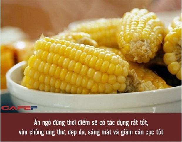 Ngô là thực phẩm cực tốt, chống cả ung thư nhưng với 5 nhóm người này, bác sĩ lại khuyên nên ăn ít để tránh nguy hiểm - Ảnh 1.