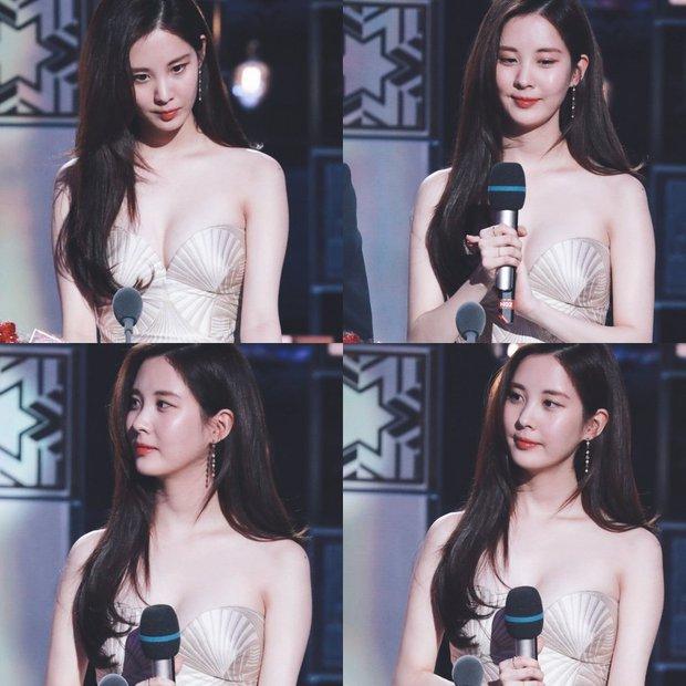 Seohyun nhiều dịp làm MC các lễ trao giải nhưng lần huyền thoại nhất phải là 3 năm trước - Ảnh 4.