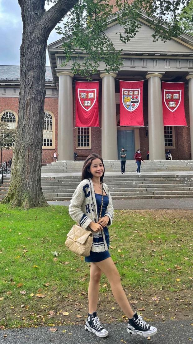 Chi Pu bảo sang Mỹ du học nhưng học gì không nói, netizen gửi lời chúc: Học thanh nhạc nha, hội trưởng đội văn nghệ Đại học Harvard - Ảnh 7.