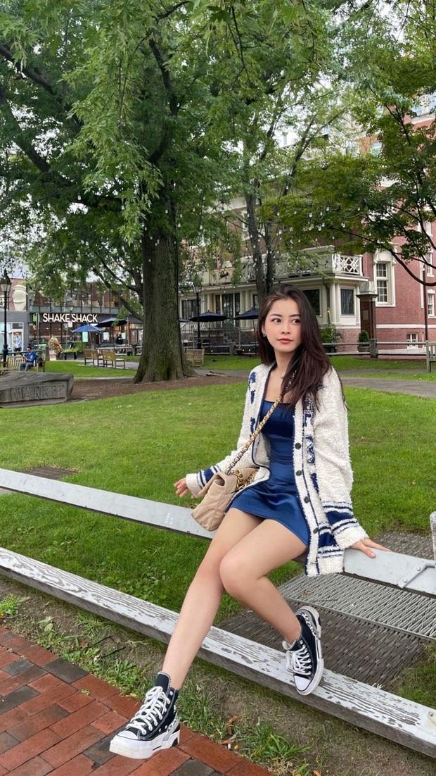 Chi Pu bảo sang Mỹ du học nhưng học gì không nói, netizen gửi lời chúc: Học thanh nhạc nha, hội trưởng đội văn nghệ Đại học Harvard - Ảnh 8.