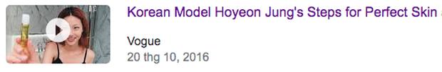Người mẫu trẻ trong Squid Game nổi như cồn, YouTube của tờ báo thời trang danh tiếng nhanh tay đu trend, đổi tên clip từ 5 năm trước - Ảnh 6.