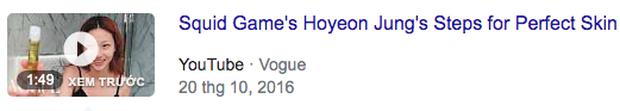 Người mẫu trẻ trong Squid Game nổi như cồn, YouTube của tờ báo thời trang danh tiếng nhanh tay đu trend, đổi tên clip từ 5 năm trước - Ảnh 7.