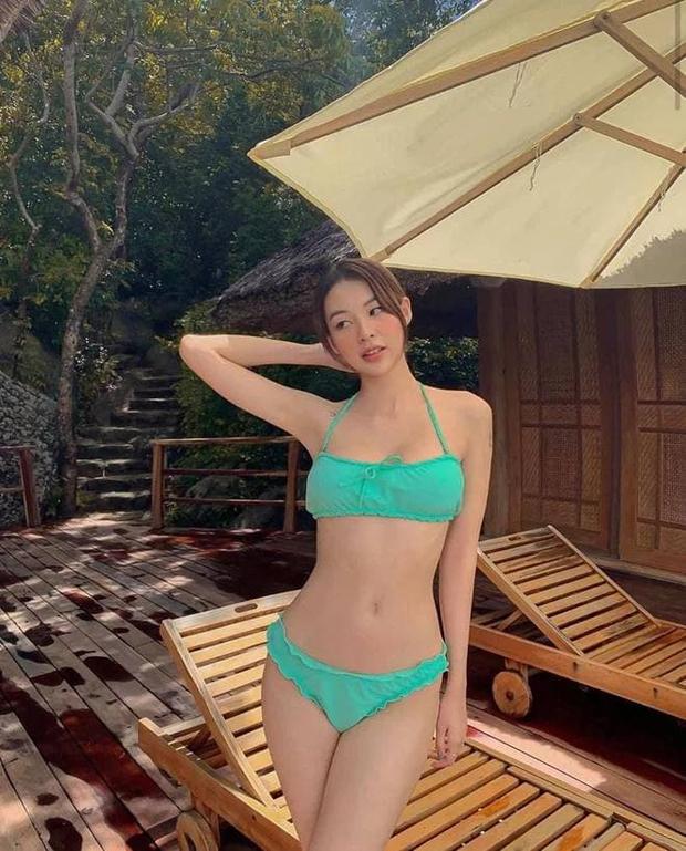 Phí Phương Anh giờ diện bikini khác hẳn hồi The Face: Vòng 1 nở nang, chỗ cần cong đã cong - Ảnh 9.