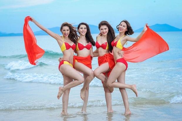 Phí Phương Anh giờ diện bikini khác hẳn hồi The Face: Vòng 1 nở nang, chỗ cần cong đã cong - Ảnh 4.