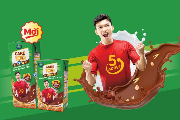 Quảng cáo gây lú Uống sữa Văn Hậu… trên poster của hãng sữa bị netizen phản ứng dữ dội vì chơi chữ kém duyên - Ảnh 2.