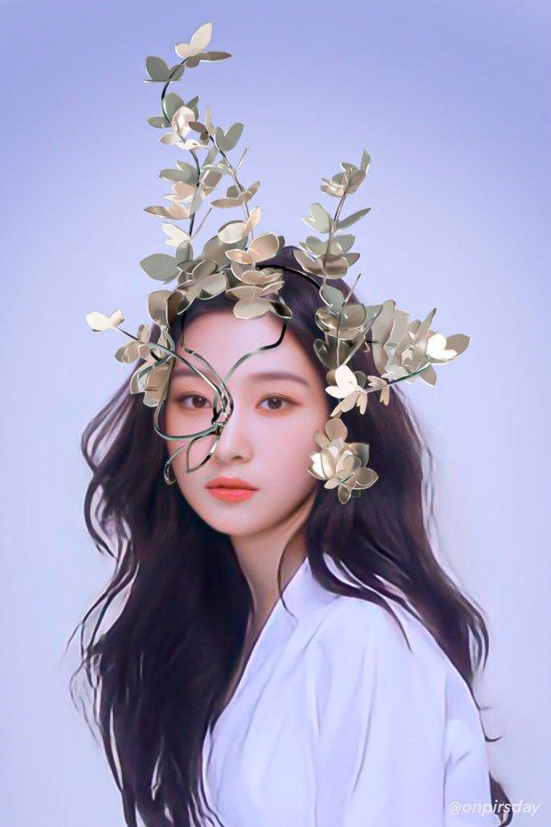 Concept mặt nạ hoa lá của aespa mà rơi vào tay nữ idol này thì cả nhóm bị diệt gọn, đến BLACKPINK cũng không đọ lại - Ảnh 9.