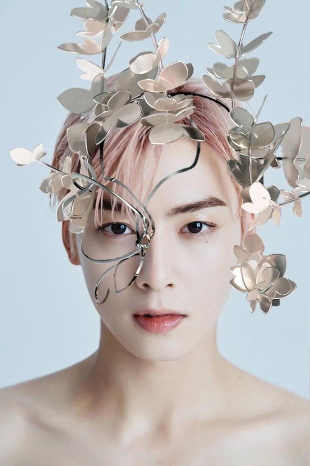 Concept mặt nạ hoa lá của aespa mà rơi vào tay nữ idol này thì cả nhóm bị diệt gọn, đến BLACKPINK cũng không đọ lại - Ảnh 14.