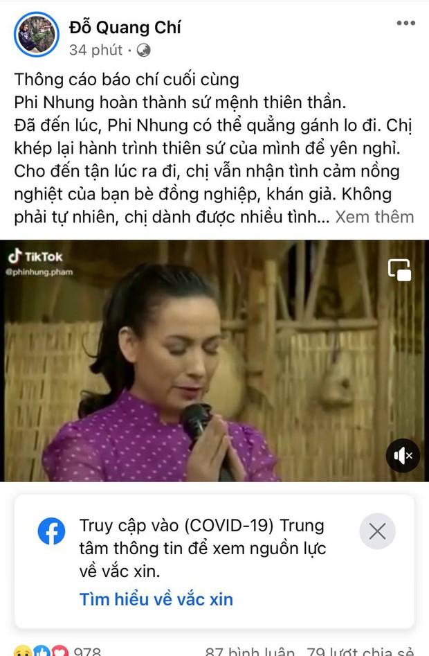Đại diện Phi Nhung ra thông cáo báo chí cuối cùng sau khi nữ ca sĩ qua đời - Ảnh 2.