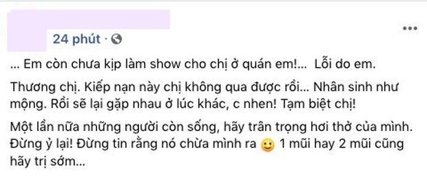 Clip: Bật khóc nghe bản audio cuối đời còn đang thu âm dở của NS Phi Nhung, nuối tiếc về 1 show diễn sẽ không thể thực hiện được nữa! - Ảnh 4.