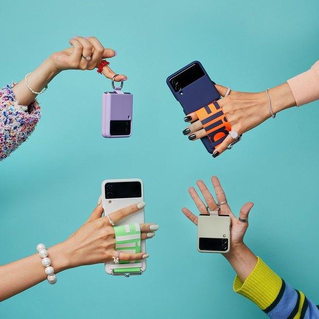 Ốp điện thoại cho Samsung Galaxy Z Flip3 hot rần rần, chiếc của Châu Bùi về đến đâu cháy hàng đến đấy! - Ảnh 3.