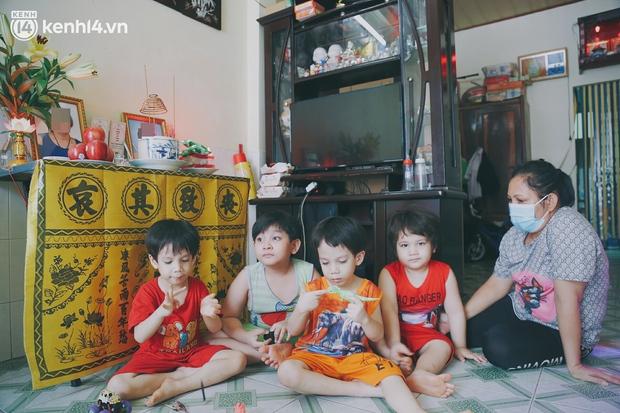 Cả nhà nhiễm Covid-19 rồi 2 người ra đi mãi mãi, 4 đứa trẻ rơi vào cảnh mồ côi: Ba tụi nhỏ mất rồi, giờ chỉ mong các con không phải nhịn đói - Ảnh 11.
