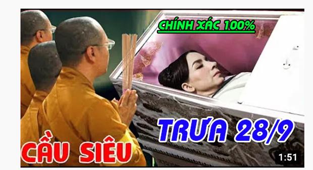 Xuất hiện hàng loạt hình ảnh, livestream giả mạo đám tang Phi Nhung trên YouTube, hãy là một người dùng MXH thông minh! - Ảnh 4.
