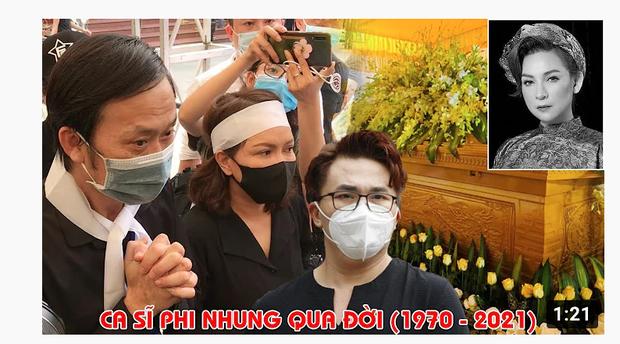 Xuất hiện hàng loạt hình ảnh, livestream giả mạo đám tang Phi Nhung trên YouTube, hãy là một người dùng MXH thông minh! - Ảnh 6.