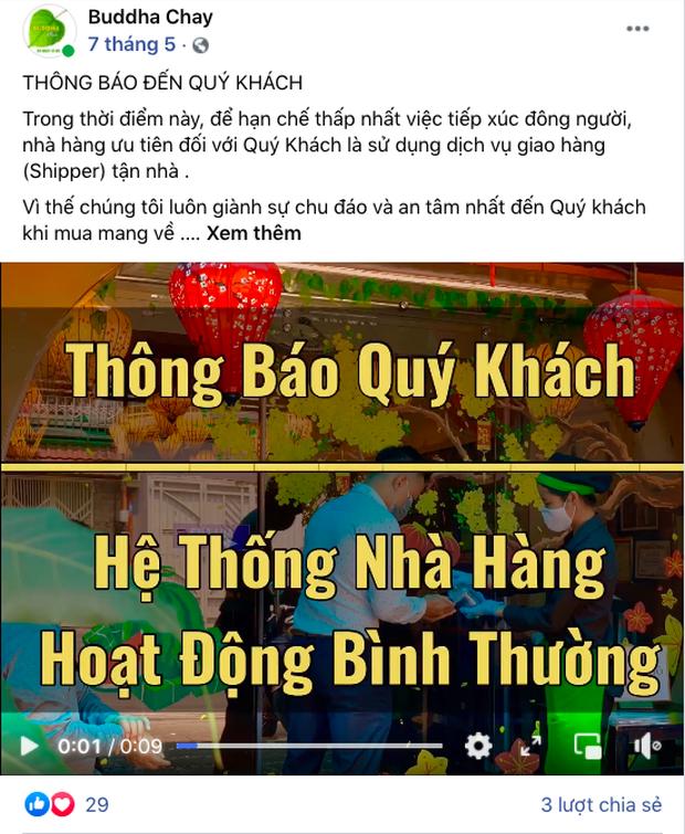 Tình hình nhà hàng chay của Phi Nhung hiện tại: Đóng cửa suốt 4 tháng vì dịch, nghe tâm nguyện hoạt động càng thán phục hơn - Ảnh 3.