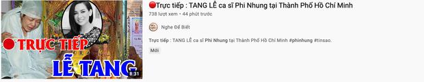 Xuất hiện hàng loạt hình ảnh, livestream giả mạo đám tang Phi Nhung trên YouTube, hãy là một người dùng MXH thông minh! - Ảnh 7.