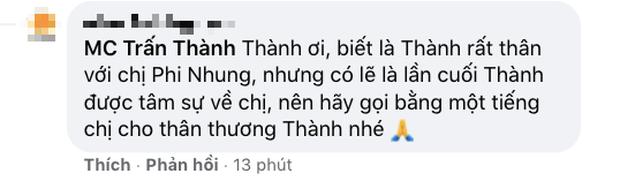 Netizen chỉ trích Trấn Thành dữ dội về cách xưng hô bạn - tôi dù kém cố NS Phi Nhung 17 tuổi, chính chủ giải thích có hợp lý? - Ảnh 3.