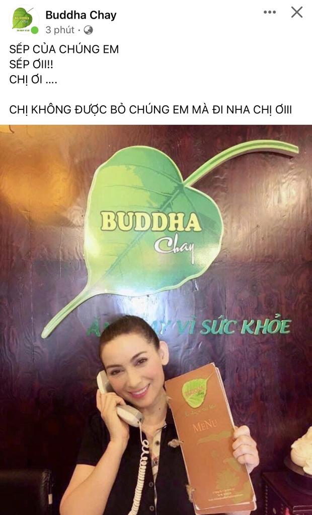 Nhà hàng chay của Phi Nhung có chia sẻ đầu tiên, dòng status như chưa thể chấp nhận sự thật càng khiến dân mạng đau lòng - Ảnh 2.