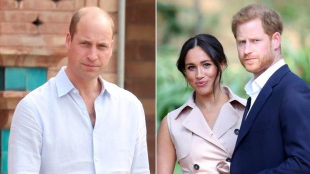 Hoàng tử William không đồng ý để vợ chồng Meghan làm lễ rửa tội cho con gái ở hoàng gia - Ảnh 1.
