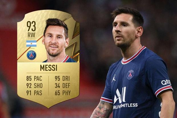 Top 100 cầu thủ mạnh nhất trong FIFA 22, Lionel Messi vẫn vô đối - Ảnh 1.