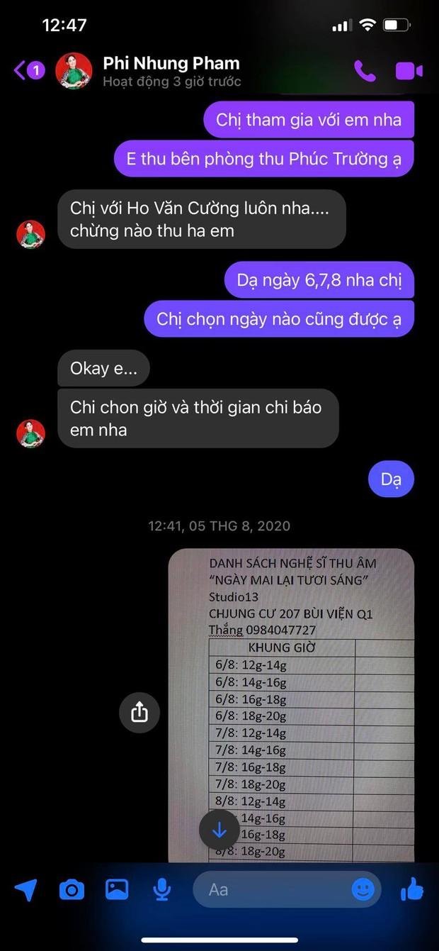 Tính cách ca sĩ Phi Nhung lộ rõ qua loạt tin nhắn chưa từng công bố với 1 nhạc sĩ khi sinh thời  - Ảnh 3.