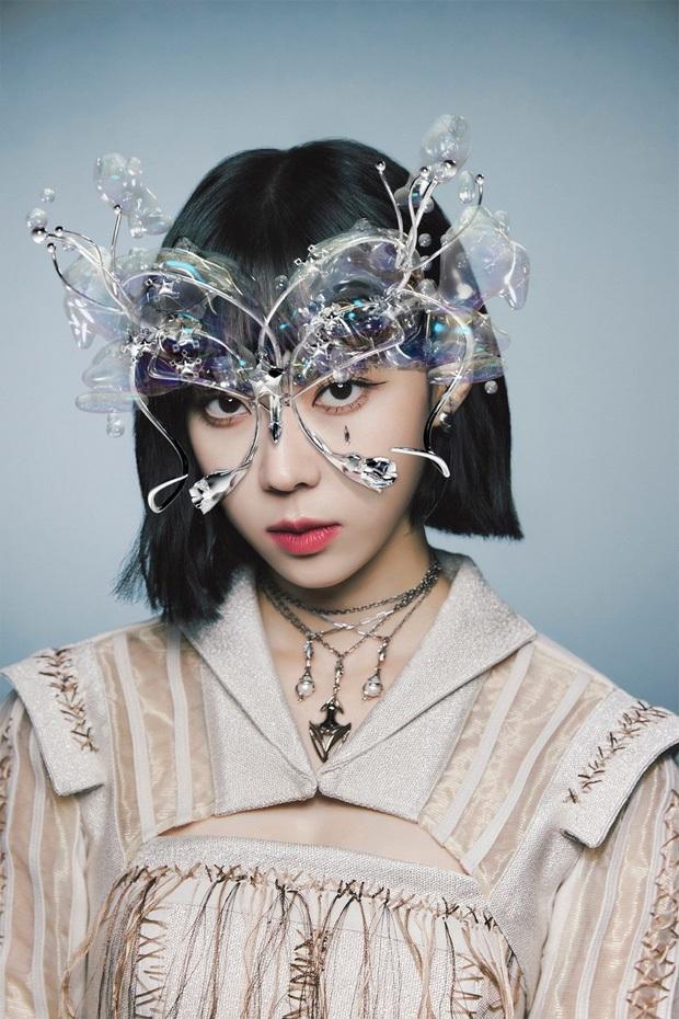 Concept mặt nạ hoa lá của aespa mà rơi vào tay nữ idol này thì cả nhóm bị diệt gọn, đến BLACKPINK cũng không đọ lại - Ảnh 2.